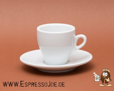 Nuova Point Cappuccino Tasse MILANO weiß (155ml) Made in Italy