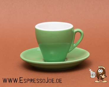 Nuova Point Espresso Tasse MILANO grün (65ml) Made in Italy