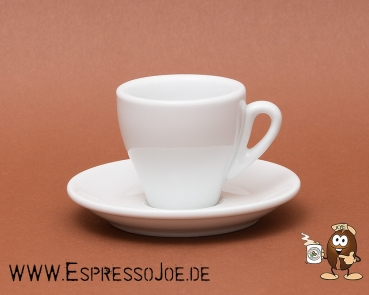 Nuova Point Espresso Tasse MILANO weiß (65ml) Made in Italy