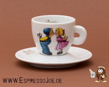 Lucaffe Piccolo & Dolce Cappuccinotasse mit Untertasse