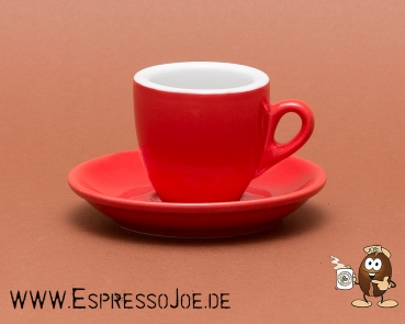 Nuova Point PALERMO Espresso Tasse rot (56ml) Made in Italy
