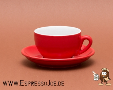 Nuova Point PALERMO Cappuccino Tasse rot (200ml) Made in Italy