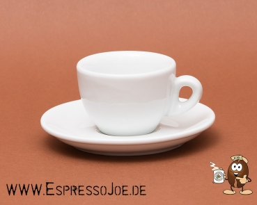 Nuova Point Espresso Tasse SORRENTO weiß (62ml) Made in Italy