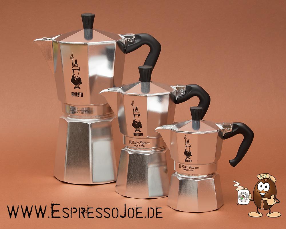 Bialetti Moka Express Espressokocher für 3 Tassen